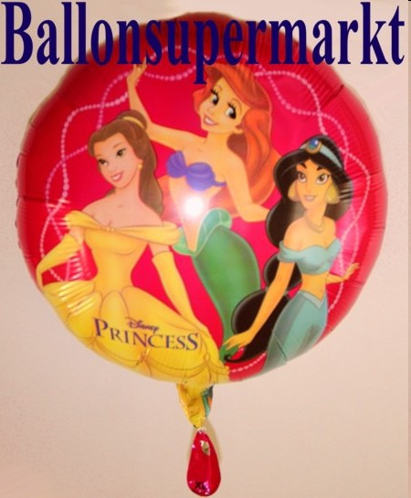 Princess-Disney-Luftballon-Walt-Disney-Prinzessinen-Ballon-aus-Folie